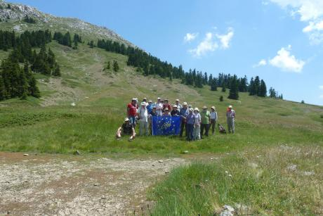 The Hellenic Society for the Protection of Nature (HSPN) organised a 3-day visit to Mt. Oiti  (Photo: Christos Georgiadis)
