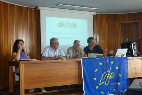 The first meeting of Stakeholders Committee was held in Lamia  (Photo: Christos Georgiadis)