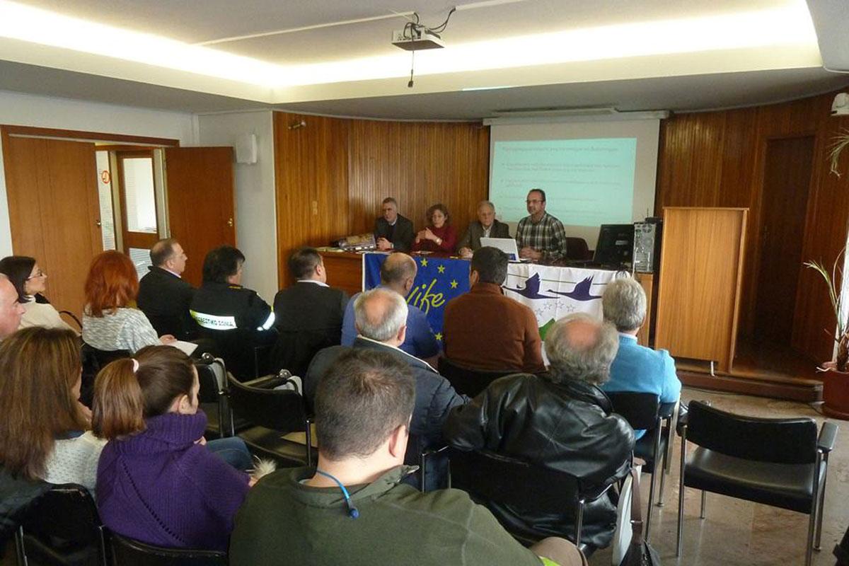 Οργανώθηκε η τρίτη συνάντηση της Επιτροπής Ενδιαφερόμενων Μερών (Φωτο: Χρήστος Παπαλεξίου)