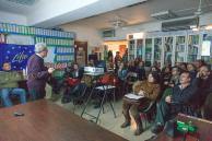 Presentation of the project to the members and friends of the Hellenic Society for the Protection of Nature