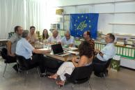 First evaluation of the project completed on July 25 and 26  (Photo: Serafeim Chatziskakis)